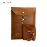 Joy Corner Drop Shipping Leather File Storage For Files Office Supplies Organizadores De Todos Os Tipos