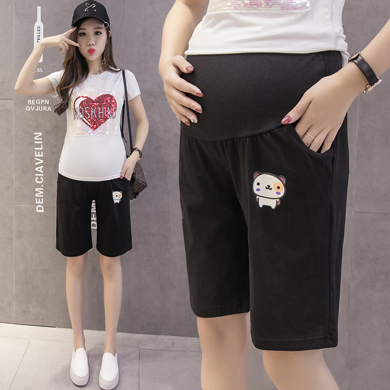 Джо брюшной беременных женщин трусики летний отдых оказать 5 минут брюки большой ярдов свободные женщины пижамы спортивные штаны