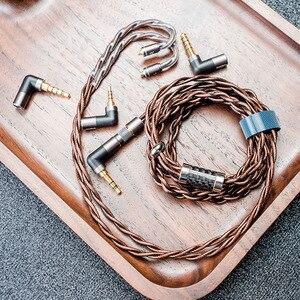 Image 5 - Обновленный кабель DUNU HULK для HIFI аудио наушников IME съемный MMCX 2 Pin 0,78 мм/QDC разъем с 4 разъемами 3,5/2,5/3.5pro/4,4 мм