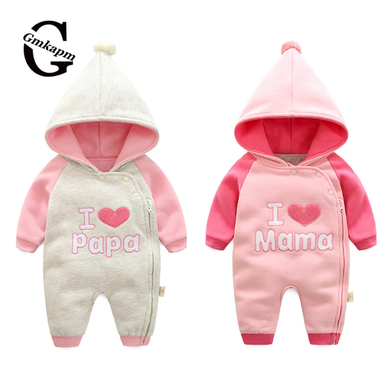 ФОТО Baby Boy Clothes Baby Rompers Newborn Clothing One Piece Baby Girl Jumpsuit Hooded Children Clothes