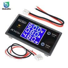 DC 100V 50V 0-10A 0-5A LCD Digital del voltímetro del amperímetro vatímetro casa coche voltaje de voltios de corriente probador del metro detector