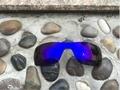 Nova Cor Roxa Substituição Lentes Polarizadas para óculos de Sol Batwolf 100% UVA & UVB