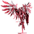 New 2016 Limited Edition WMX 3D Metal Puzzle Thundering Wings Gundam Robot P069-RS DIY 3D Laser Cut Models Jigsaw Toys