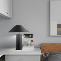 Nordic designer modern table lamp simple living room bedroom mushroom head bedside lamp