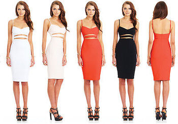Bandage Bodycon Dress 1