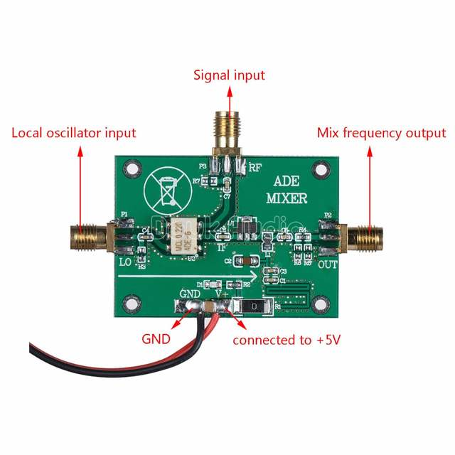 ADE-6 Passive Mixer Module RF Up / Down Frequency Conversion 0 05MHz-250MHz
