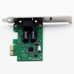 Image 5 - 1000Mbps Gigabit Ethernet PCI Express PCI e Scheda di Rete 10/100/1000M RJ 45 RJ45 LAN Adattatore Convertitore controller di rete