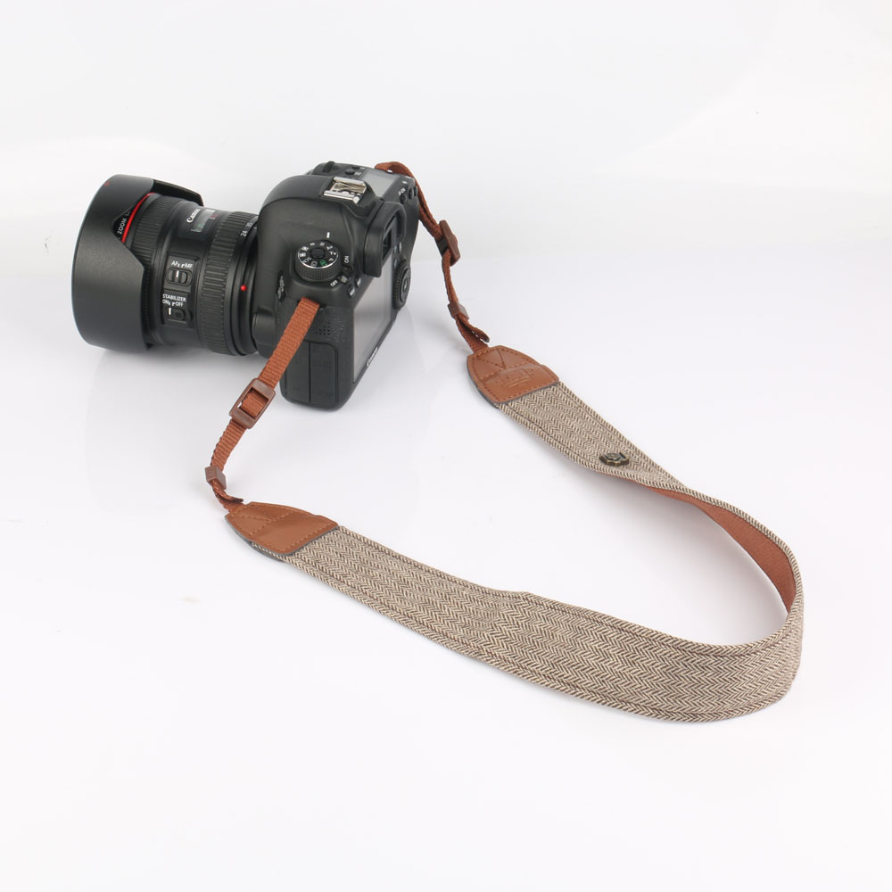 Mirrorless and Instant Camera ARCHE Adjustable and Comfortable Neck//Shoulder Camera Strap for All DSLR Camera Compatible Work with Nikon//Canon//Sony//Olympus and More DSLR Aztec Black Color