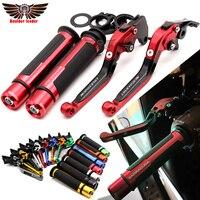 For YAMAHA XJ6 DIVERSION 2009 2015 XJ6 600 900 XJ600 Motorcycle Adjustable Folding Brake Clutch Levers Handlebar Hand Grips