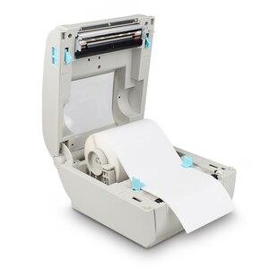 """Image 4 - 4 סנטימטרים תרמית חינם תווית מדפסת ברקוד Bluetooth תמונה מדבקת תרמית מדפסת עבור Ebay Etsy Shopify 160 מ""""מ\שנייה"""