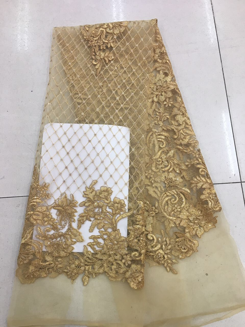 newest african french net lace fabric super quality CiCi 51215 nigerian cord lace with sequins Free