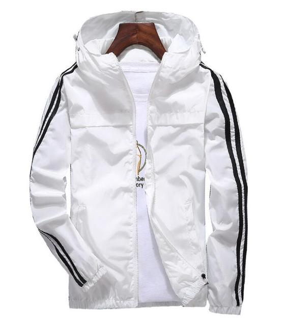yizlo jacket windbreaker men women jaqueta masculina striped college jackets 1