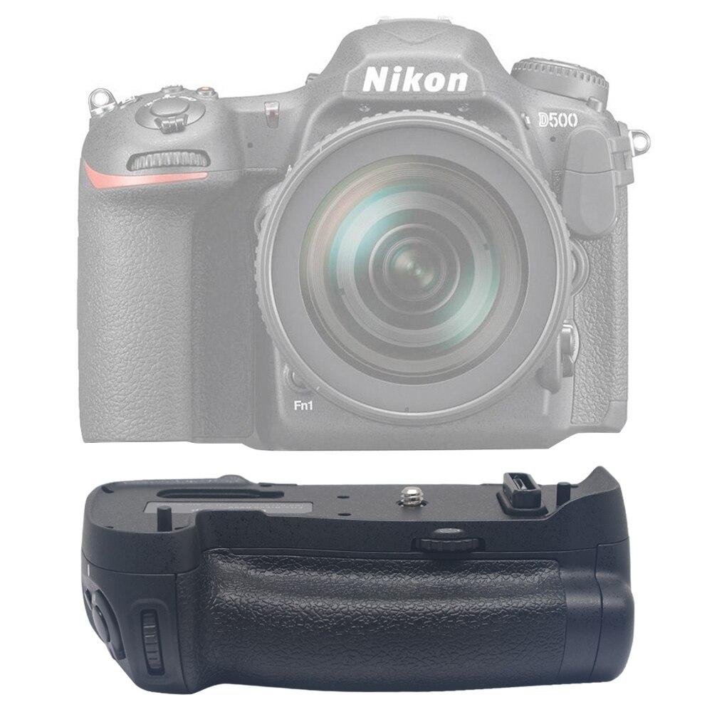 Mcoplus BG-D500 Professionnel Batterie Grip pour Nikon D500 fonctionne avec EN-EL15 Batterie & AA Batterie comme Nikon MB-D17