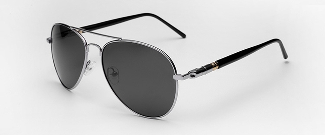 3cd4cbdac98 Classic Aviator Sunglasses Polarized Authentic Navy Air Force Sunglasses  Men Women Pilot Glasses Flat Top Frame