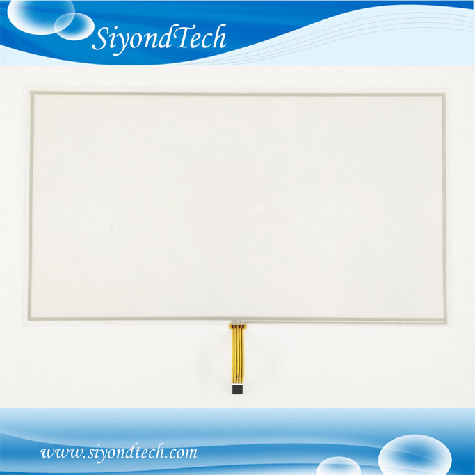 Free Shipping!!! 1PC 18.5inch 4Wire 0.5MM Resistive Touch Screen 429MM*253MM Digitizer+Controller new 4 3 inch 4wire resistive touch panel digitizer screen for texet tn 501 gps free shipping