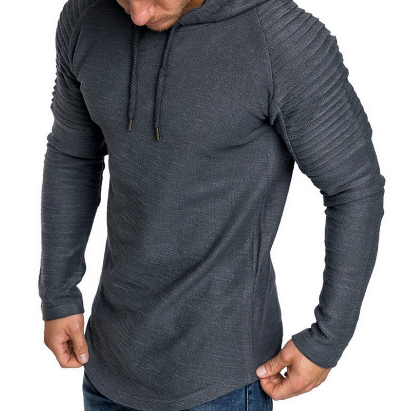 NIBESSER 2018 Brand Mens Hoodies Fashion Men Sportswear Sweatshirt Male Hoody Hip Hop Autumn Winter Hoodie Mens Pullover XXXL