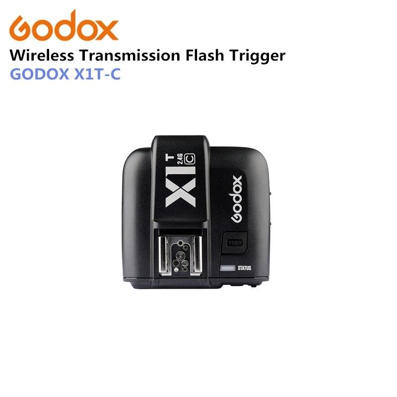 Godox X1C X1R-C TTL 2,4g receptor inalámbrico para cámaras de la serie Canon 1000D 600D 700D 650D 100D 550D 500D 450D 400D 350D 300D