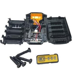 Image 2 - For Dewalt 18V 20V Battery Plastic Case 1.5Ah DCB200 DCB201 DCB203 DCB204 Li ion Battery Cover Parts
