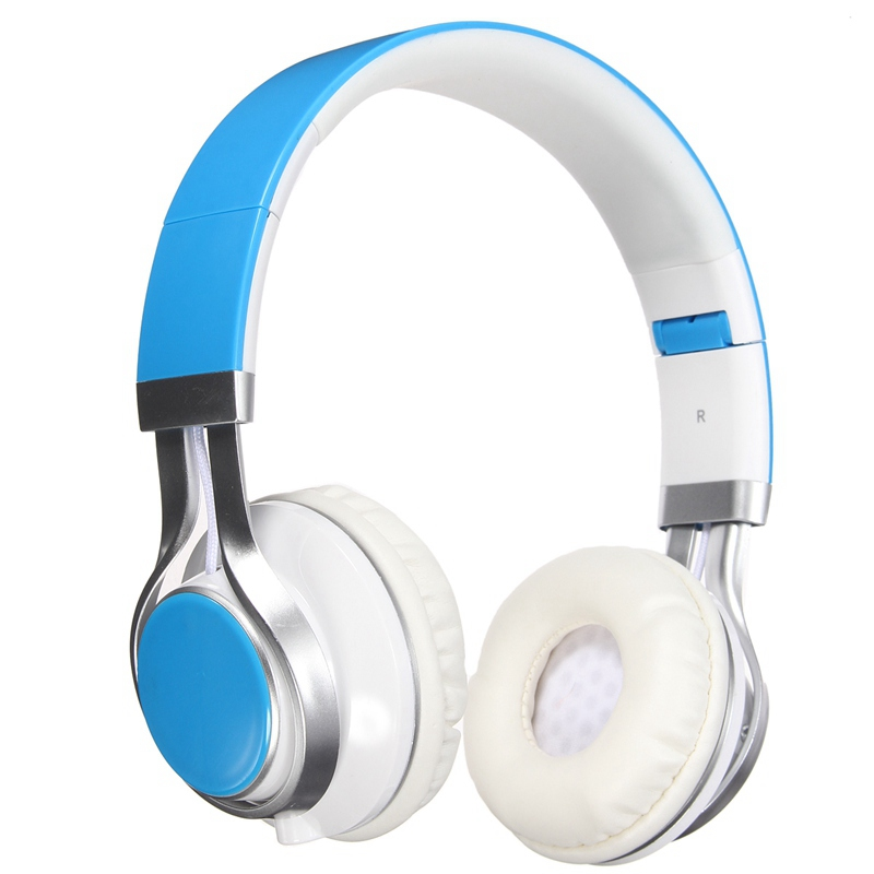 LEORY New Best Headphones Fold Stereo Surround 3.5mm Headband Headset For Samsung For HTC With Microphone