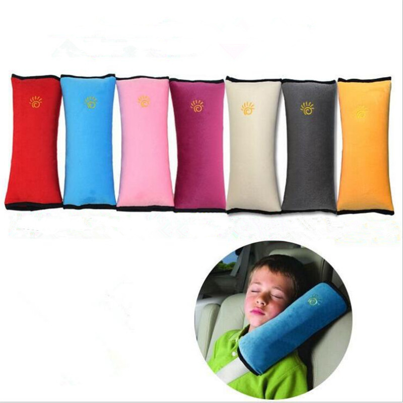 1 Pair Auto Baby Colorful Protection Child Safety belt for cars Shoulder Protection Car Accessories