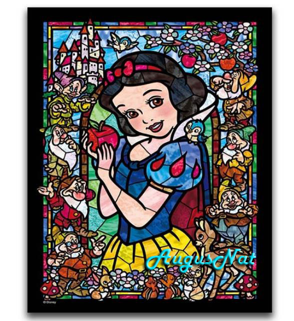disney diamond painting full square cartoon princess decor wall art seven dwarfs mosaic sticker diamond dots picture craft children toy gift