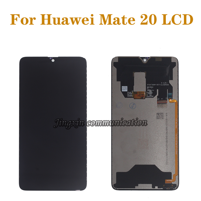 "6.53 ""Original display for Huawei Mate 20 LCD + touch digitizer replacement for huawei mate20 MT20 LCD mobile phone repair parts-in Mobile Phone LCD Screens from Cellphones & Telecommunications"