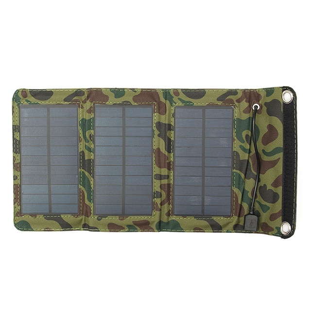 LEORY 5W 5.5V USB Output Portable Solar Panel Charger Folding Camping Solar Power Bank For Cellphone MP4 Camera Battery Charger