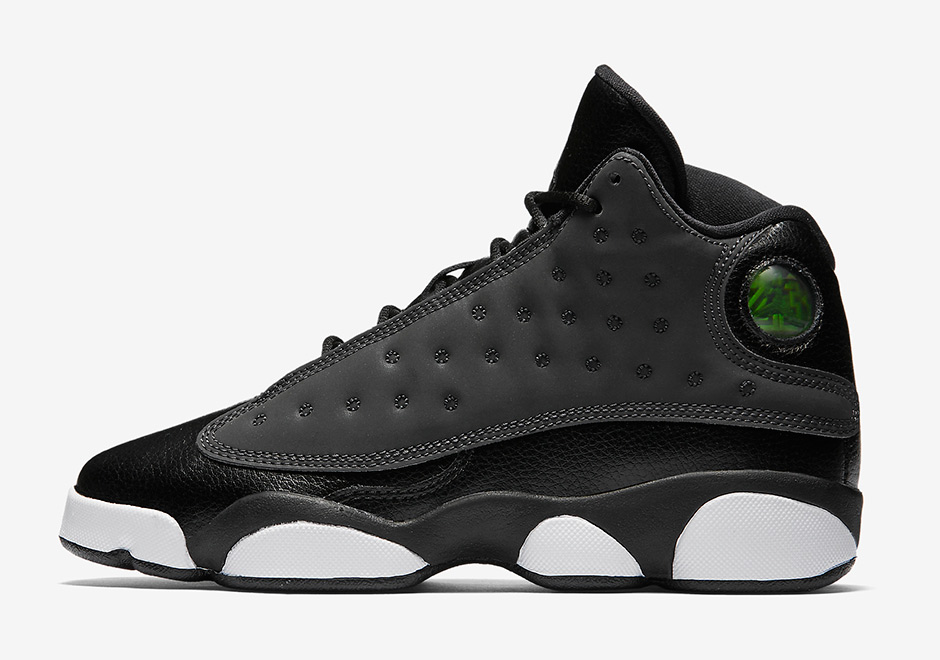 JORDAN 13 Black and White Mens Basketball Shoes High Upper Height Increasing Waterproof Sneakers For Men Shoes