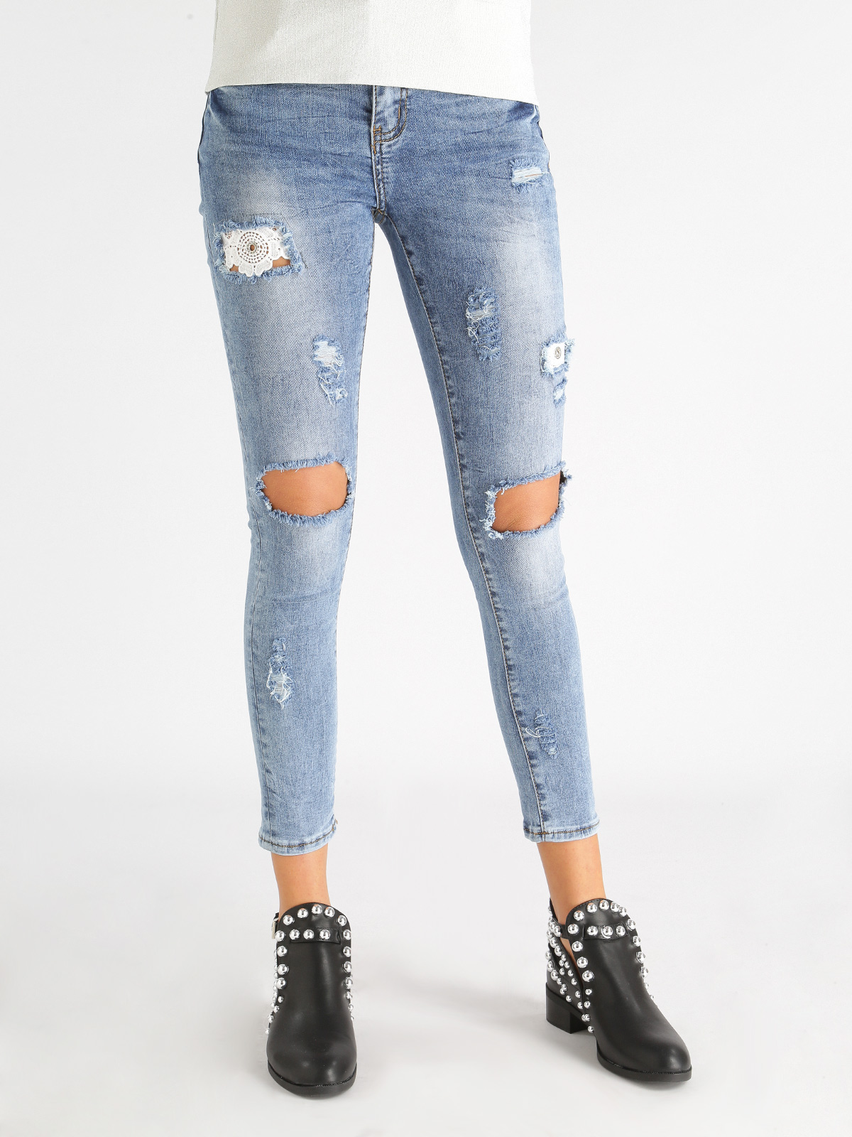 Ripped Jeans Skinny