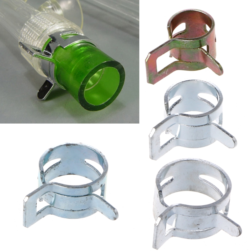 1 Pcs Computer Water Cooling Pipe Clamp Elasticity Clip For Od 8/10/12/13mm Hose Computer Components Fan Cooling