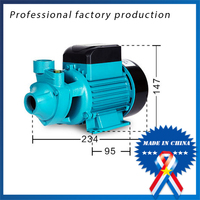 free shipping 1/2 HP 0.37 KW QB60 Well 110v/220v Electric Centrifugal Water Pump Pool Garden