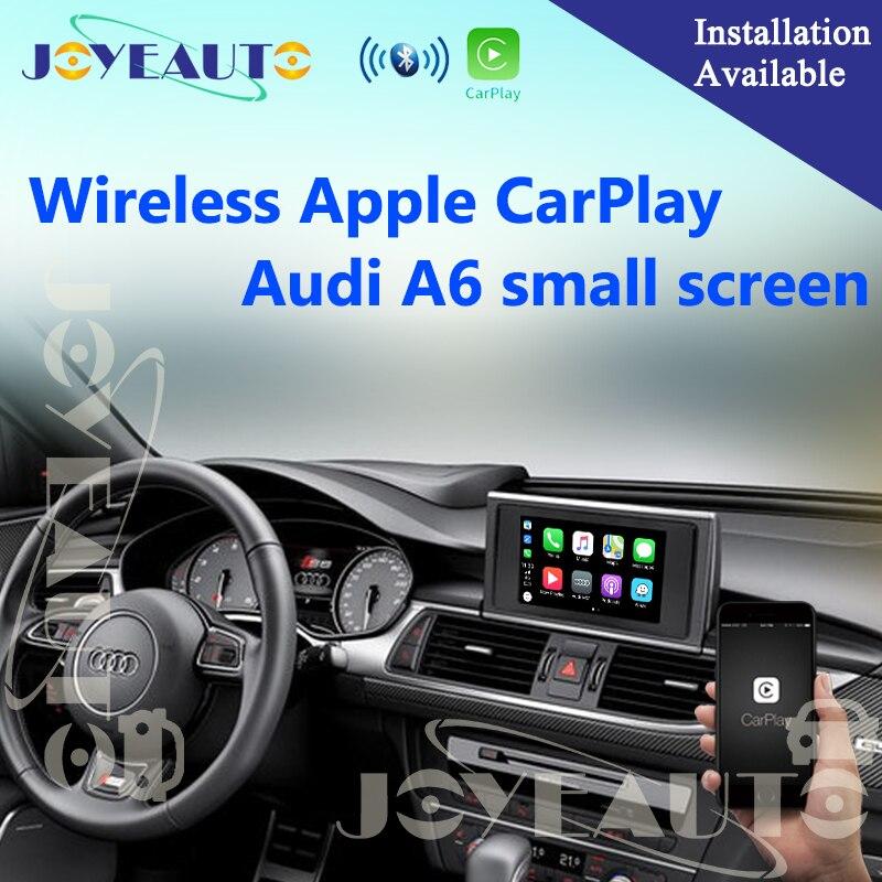 Aftermarket Adaptateur Multimédia A6 C7 MMI Petit Écran OEM Sans Fil Apple CarPlay Solution Rénovation avec Caméra de Recul pour Audi