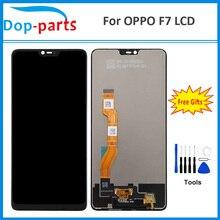 """6.23 """"IPS LCD ekran Digitizer OPPO F7 Dokunmatik ekran takımı değiştirme Parçaları 100% Test AAA       Hiçbir Ölü Piksel sensör paneli Parçaları"""