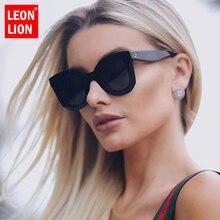 LeonLion 2019 Leopard Cat Eye Sunglasses Women Designer Luxury Man/Women Sun Gla