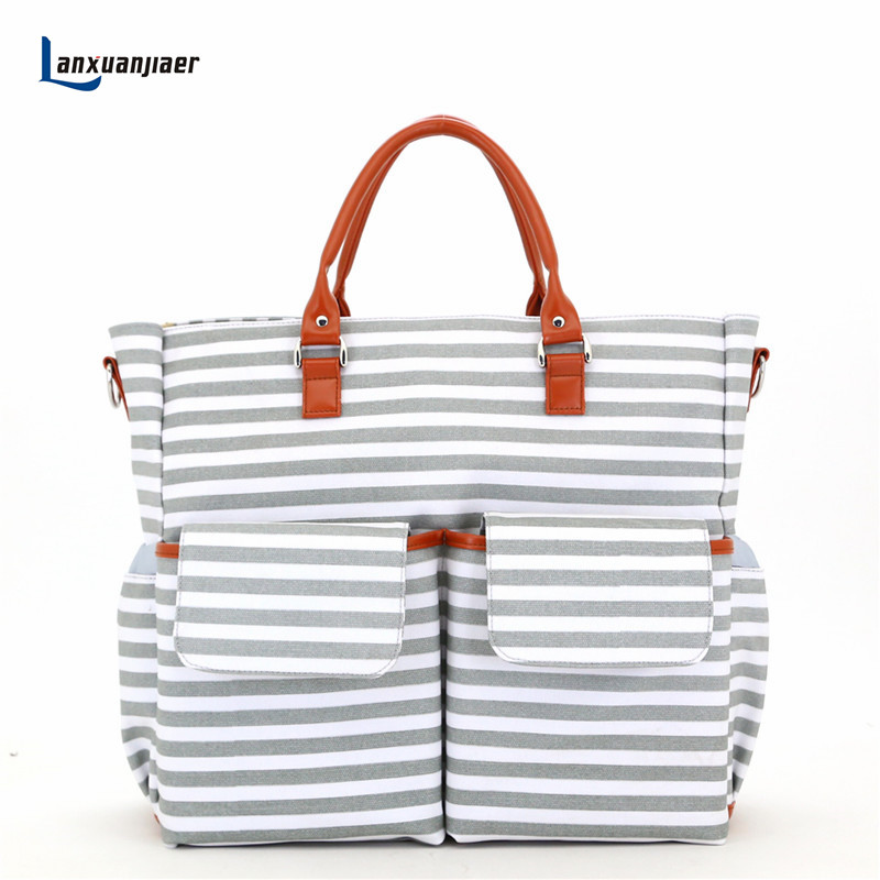 Lanxuanjiaer Baby Diaper bag for Stroller Mother Maternity Bag Large capacity Multi-function Mummy Mom Handbag Nappy tote Bags 2017 new 4 colors mother bag diaper bags for mom baby large capacity nappy bags organizer stroller for maternity mummy bag