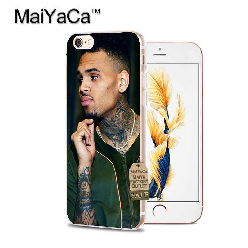 MaiYaCa Chris Коричневый чехол для Apple iPhone 8 7 6 6S Plus X XS XR XSMAX 4S
