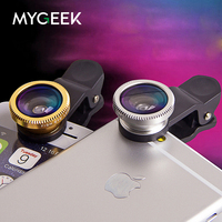 3 In 1 Fish Eye Lens Selfie Wide Angle Mobile Phone Fisheye Lenses For IPhone 5