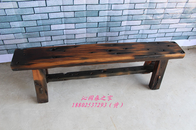 Qinyuanchun Old Ancient Ship Wood Furniture Original Ecological Wood Bench  Bench Stool Stool Sofa With Weathered Bench