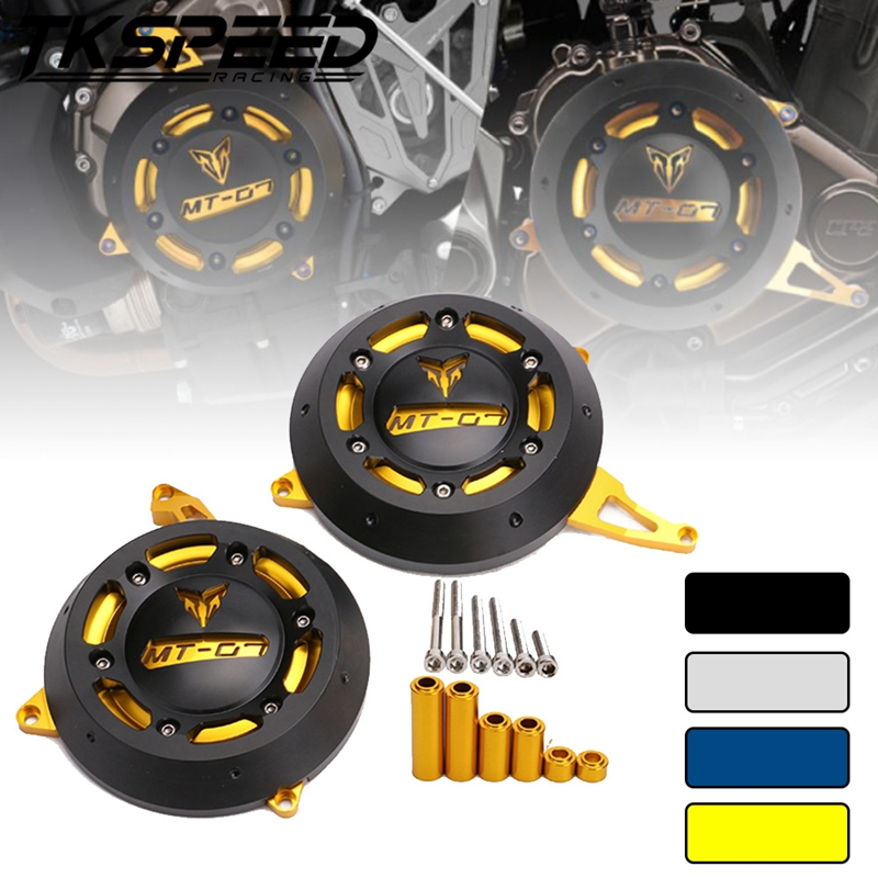 Motorcycle MT 07 Engine Stator Case Cover Engine Protective Cover Protector For YAMAHA MT 07 MT07