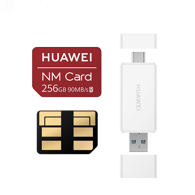 90MB/s NM Card Nano 256GB Apply For Huawei P30 Pro Mate20 Pro Mate20 X USB3.1 Gen 1 Card Reader