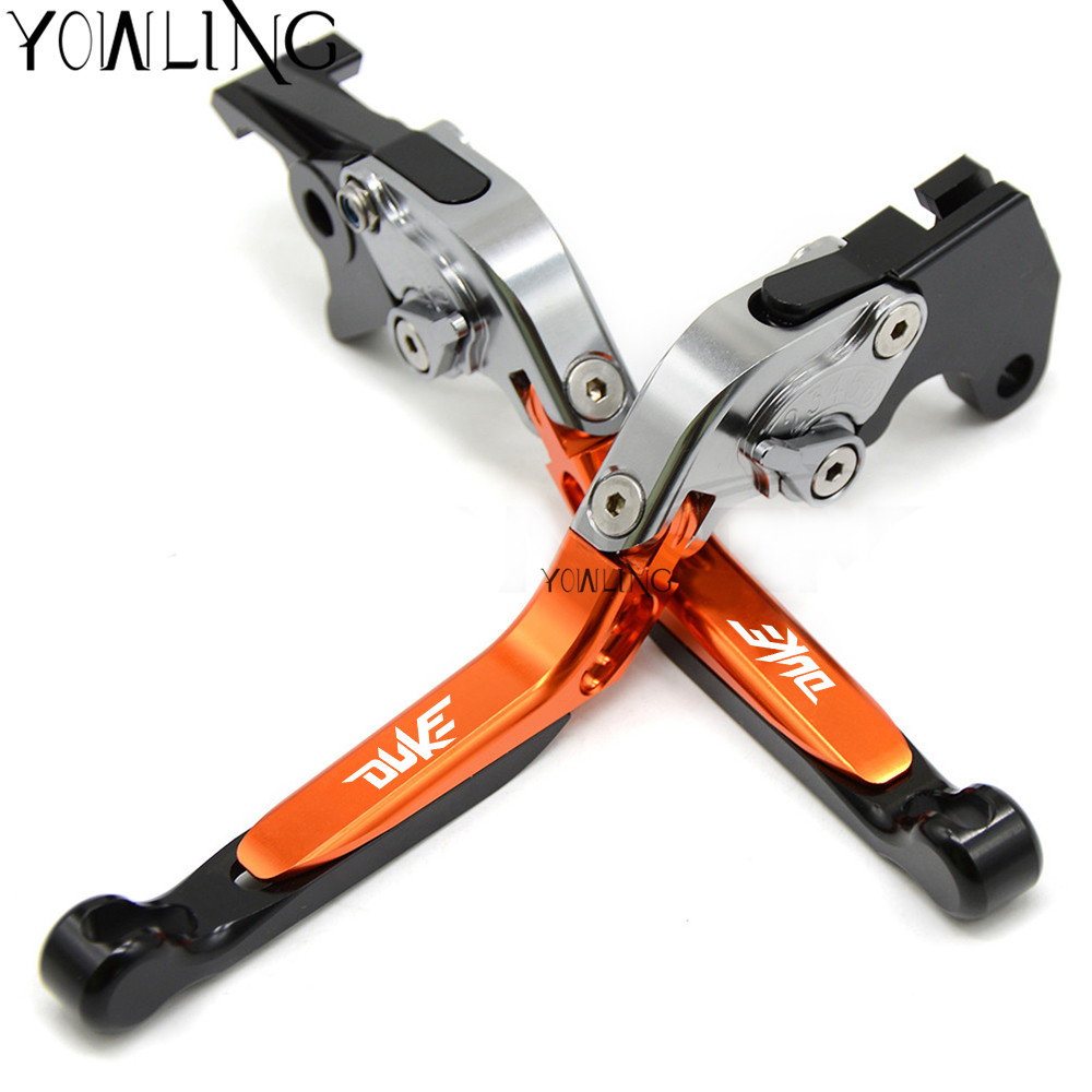 Motorcycle lever Adjustable Foldable brake clutch levers for ktm 200 Duke 200 2014 2015 2016 2017