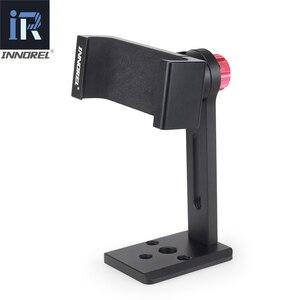 Image 2 - INNOREL PC5 Clip In Lega di Alluminio Del Metallo del Cellulare Smartphone Holder Treppiede 360 Del Telefono Mobile Regolabile Morsetto