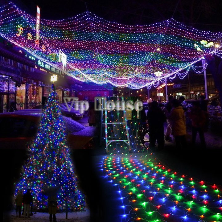 V  Led Fairy Tale Net Light Garden For Wedding Lamp Decoration Christmas And Birthday Party Decoration Light  In Holiday Lighting From Lights