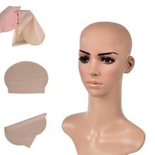 Смешной, латексный поддельный лысый головной убор унисекс причудливый фильм вечерние платья кожа голова парик колпачок латексная маска шляпа
