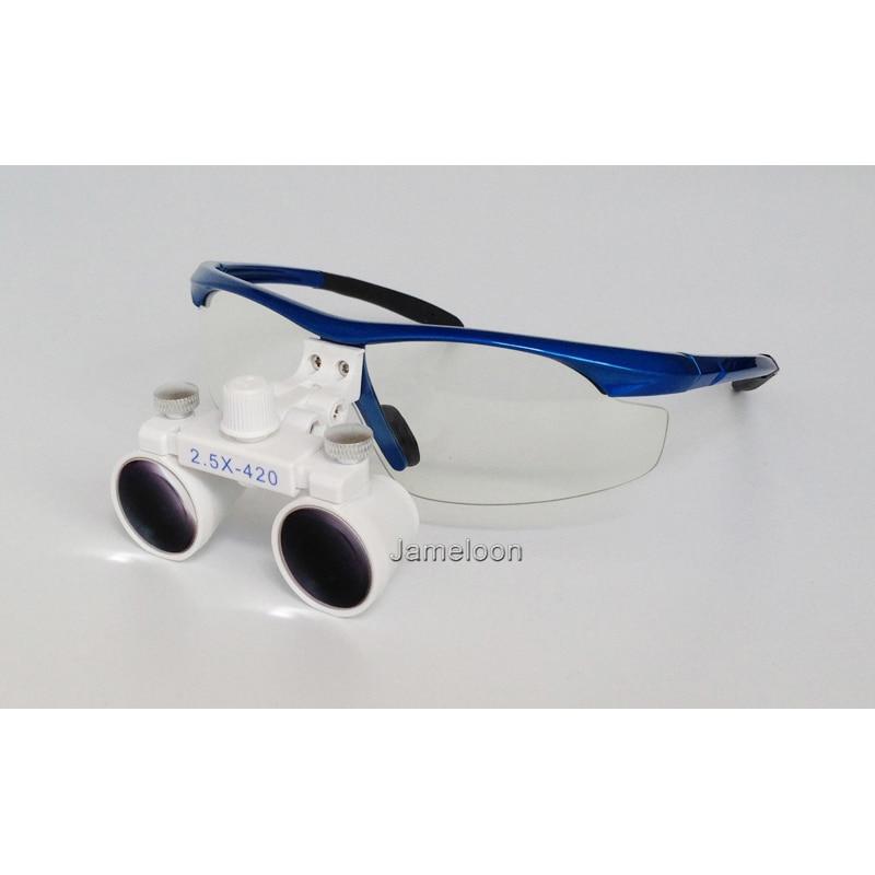 2.5X magnificar lupa dental equipo médico lupas antiniebla lentes - Instrumentos de medición - foto 4