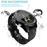 For LOKMAT MK26 Men's Sports Smart Watch 5ATM Waterproof Bluetooth Pedometer Message Reminder Digital Clock Smart Watch Sports W