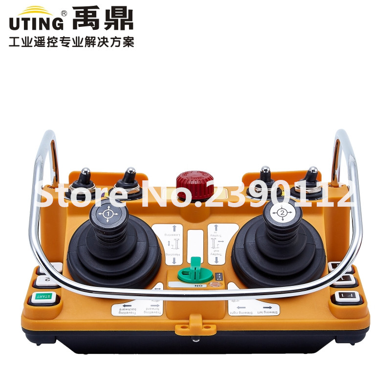 F24-60 sans fil industriel d'émetteur de télécommande de Joystick de redio pour la grue de grue de camion
