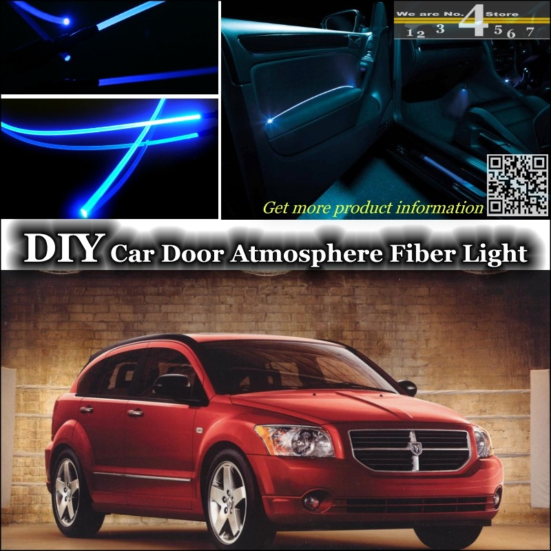 For Dodge Caliber interior Ambient Light Tuning Atmosphere Fiber Optic Band Lights Insid ...