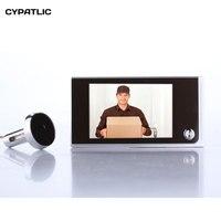 Simple DIY digital peephole door viewer on door for security 2MP camera 3.5 TFT display