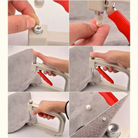 Metal+Plastic Beading Machine Non porous Pearl DIY Manual Pearl Rivet Accurate And Compact Easy And Labor saving